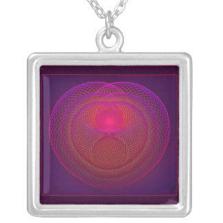 Seat of the Soul Square Pendant Necklace