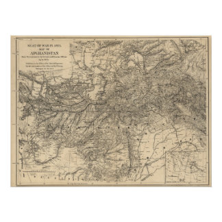 Seat of War:  Afghanistan 1878 Poster