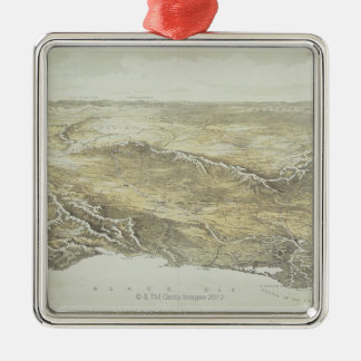 Seat of War in Europe Christmas Ornament