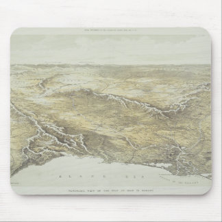 Seat of War in Europe Mouse Mat