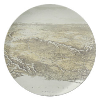 Seat of War in Europe Plate