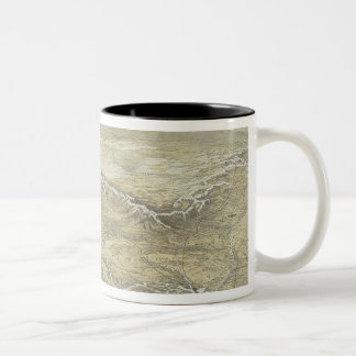 Seat of War in Europe Two-Tone Coffee Mug