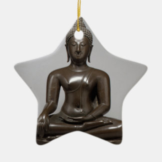 Seated Buddha - 15th century Christmas Ornament