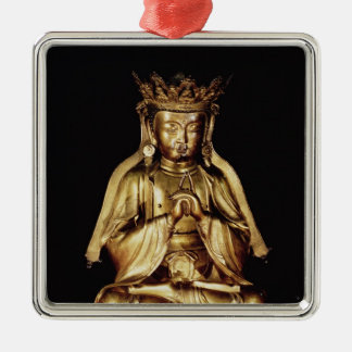Seated Buddha Christmas Ornament