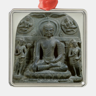 Seated Buddha in meditation Christmas Ornament