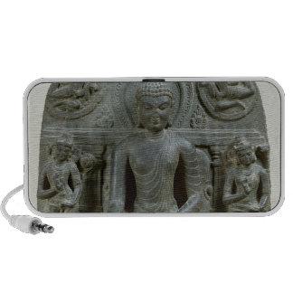 Seated Buddha in meditation iPod Speakers
