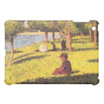 Seated figure by Georges Seurat iPad Mini Case