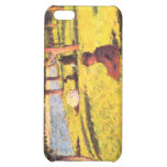 Seated figure by Georges Seurat iPhone 5C Cover