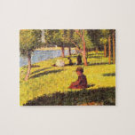 Seated figure by Georges Seurat Puzzles