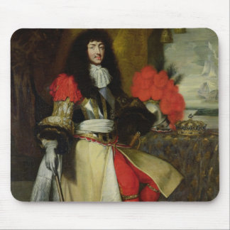 Seated Portrait of Louis XIV  after 1670 Mouse Mat