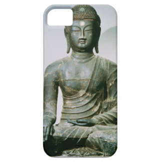 Seated Sakyamuni Buddha from Ch'ungung-ni (iron) iPhone 5 Covers