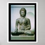 Seated Sakyamuni Buddha from Ch'ungung-ni (iron) Print