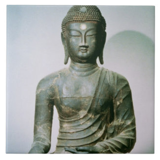 Seated Sakyamuni Buddha from Ch'ungung-ni (iron) Tile