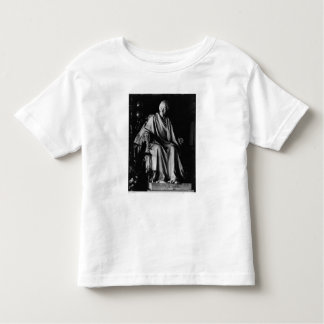 Seated sculpture of Voltaire Toddler T-Shirt