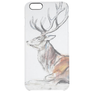 Seated Stag 2006 Clear iPhone 6 Plus Case