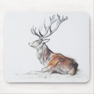 Seated Stag 2006 Mouse Mat