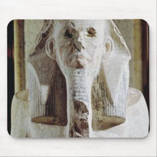 Seated statue of King Djoser Mouse Mat