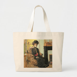 Seated Woman, 1901 Large Tote Bag