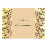 Seating name tags, peach orchids- customisable