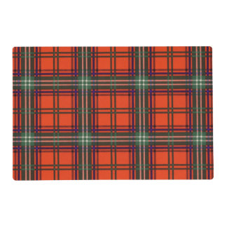 Seaton clan Plaid Scottish kilt tartan Laminated Placemat