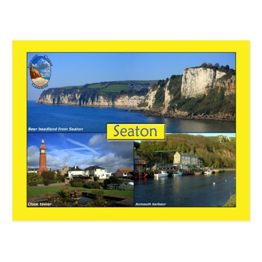 Seaton Postcard