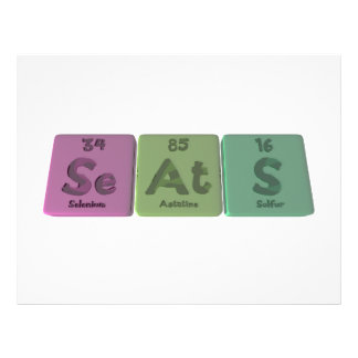 Seats-Se-At-S-Selenium-Astatine-Sulfur png Custom Flyer