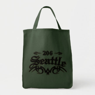 Seattle 206 canvas bags