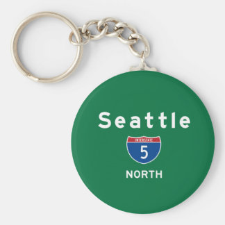 Seattle 5 key ring