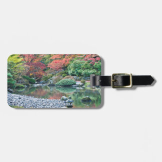 Seattle, Arboretum Japanese Garden Luggage Tag