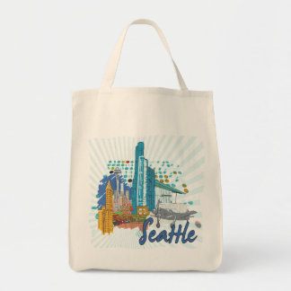 Seattle Tote Bags