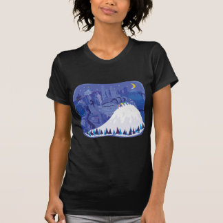 Seattle blank Winter Holiday card, pillow, shirts