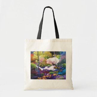 Seattle Botanical Garden Tote Budget Tote Bag