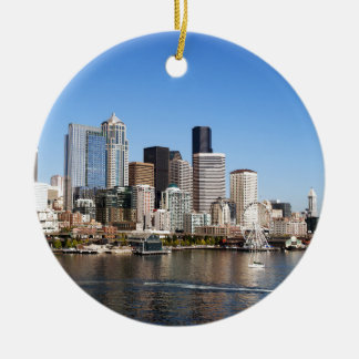 Seattle Christmas Ornament