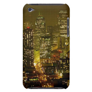 Seattle city view barely there iPod cases