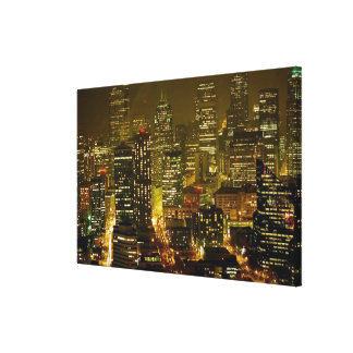 Seattle city view canvas print