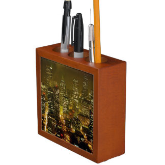 Seattle city view desk organiser