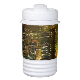 Seattle city view drinks cooler