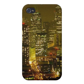 Seattle city view iPhone 4 case