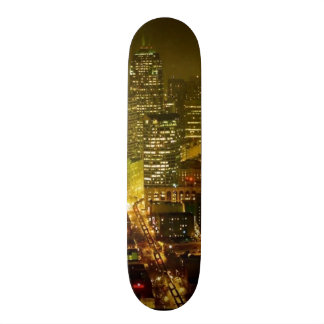 Seattle city view skateboard deck
