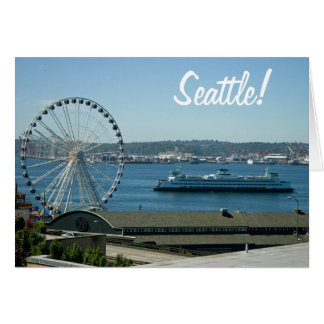 Seattle Ferry and Wheel Card