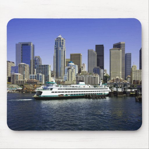 Seattle Ferry Washington State Mouse Pads