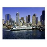Seattle Ferry Washington State Postcards