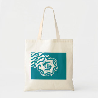Seattle Flag Budget Tote Bag
