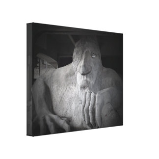 Seattle Fremont Troll Canvas (various sizes)