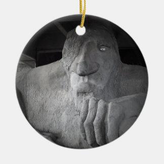 Seattle Fremont Troll Ornament