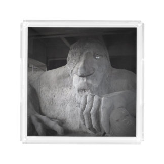 Seattle Fremont Troll Small Serving Tray