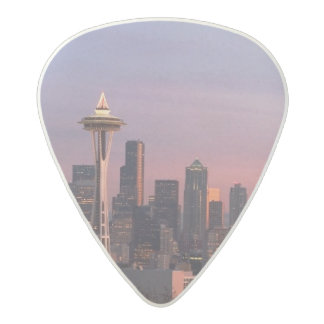 Seattle from Kerry Park. Acetal Guitar Pick