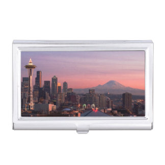 Seattle from Kerry Park. Business Card Holder