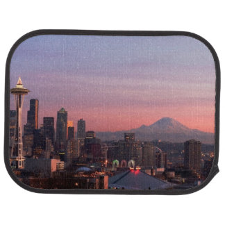 Seattle from Kerry Park. Car Mat