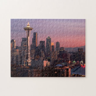 Seattle from Kerry Park. Jigsaw Puzzle
